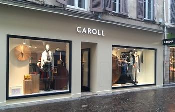 2e34d9541447 Centre-Ville Mâcon Actualité de la boutique Caroll Publié le 17 novembre  2018. Caroll a déménagé rue Carnot