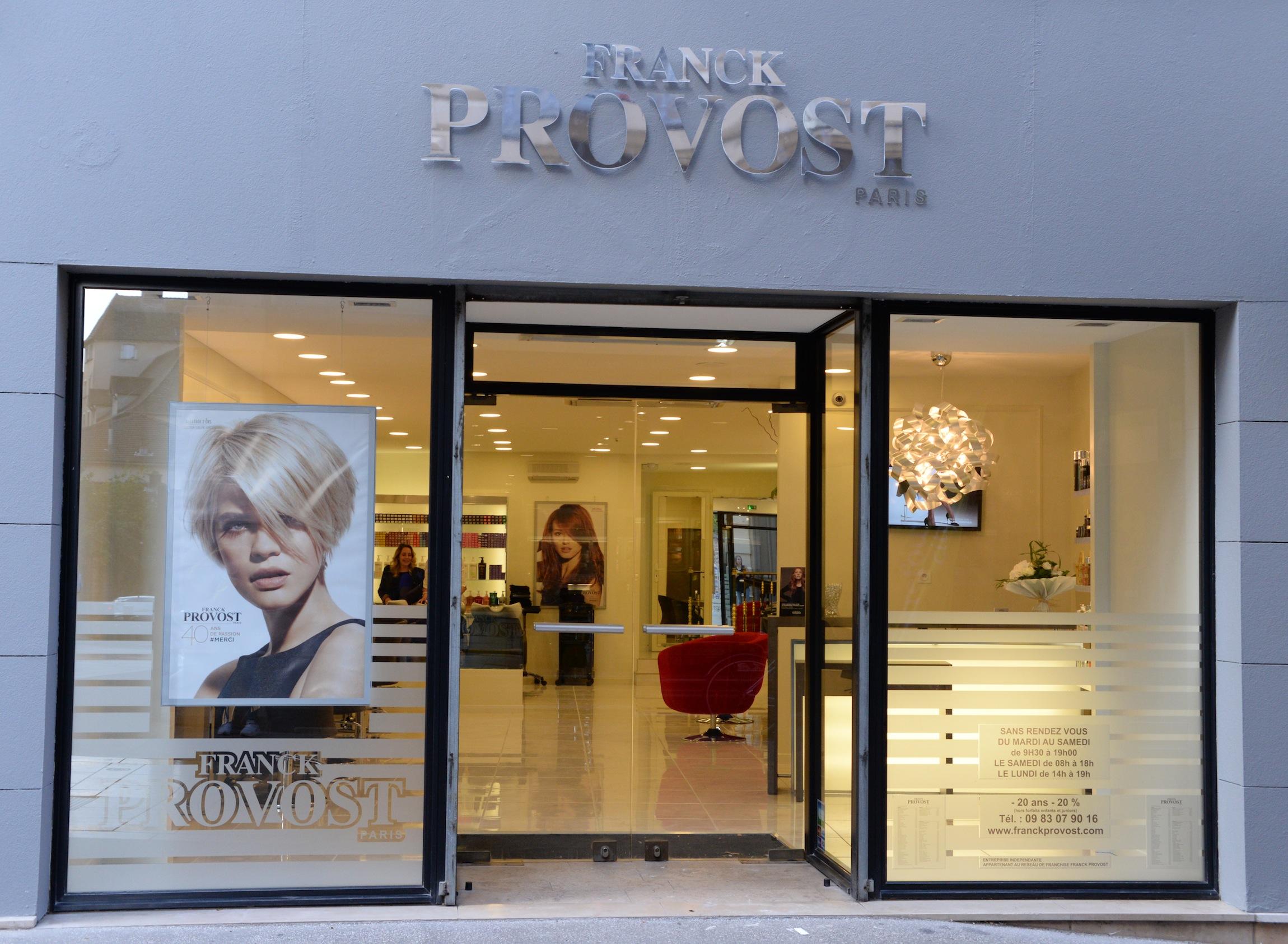 M con le salon franck provost est ouvert l actualit for Tarif salon franck provost