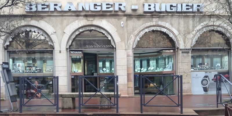 prix fou incroyable sélection design distinctif Bijouterie Béranger-Bugier - | Mâcon tendance
