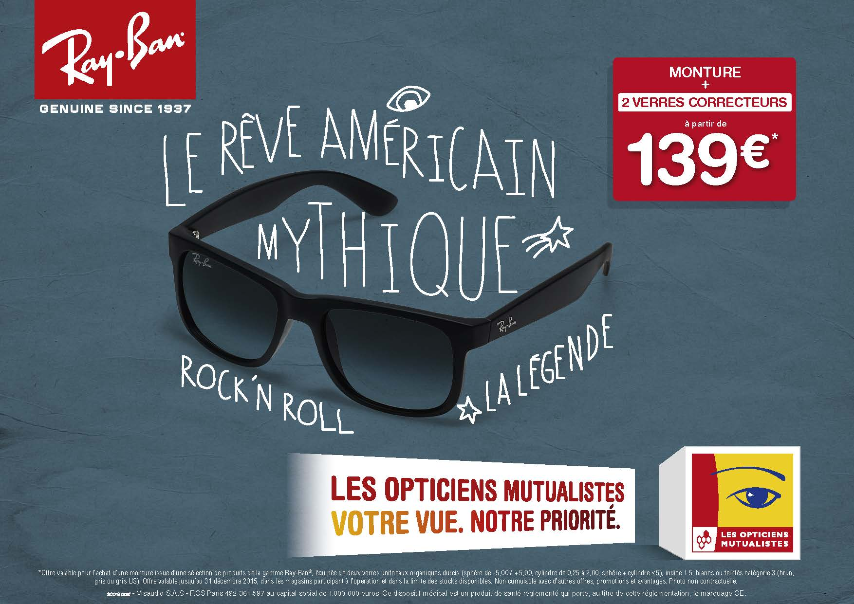 optique mutualiste ray ban