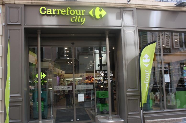 Carrefour City Rue De La Barre Macon Tendance