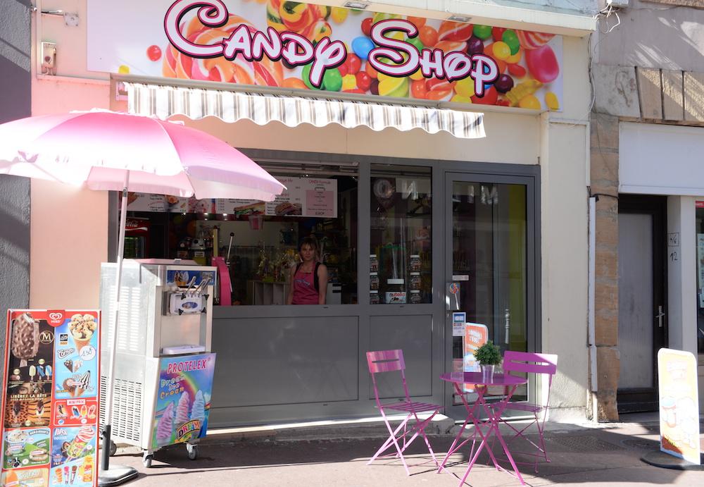 l 39 univers color et sucr de candy shop l actualit du centre ville de m con. Black Bedroom Furniture Sets. Home Design Ideas