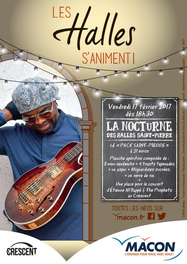 8ba4963f10a3 Nocturne des Halles Saint-Pierre avec le Crescent   l actualité du ...