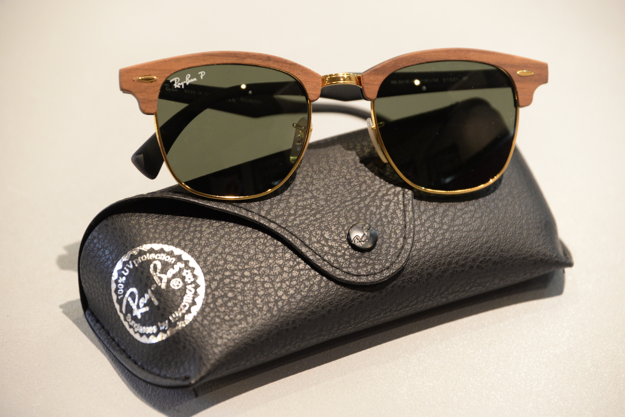 Clubmaster Ray Ban Bois